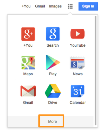 G-Suite - log on and what will i see - img3.png