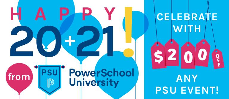 Happy 2021 from PowerSchool University!