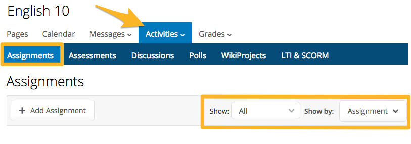 PowerSchool_Learning___English_10___Assignments.png