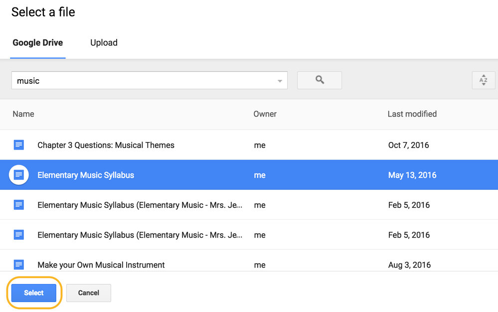 adding pdf to a shared google doc