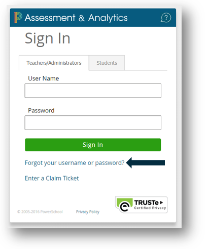 Retrieving Lost Username or Password - PowerSchool Community