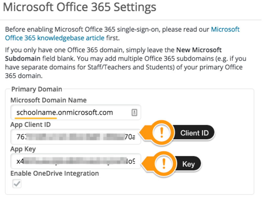 How do I add Office 365 integration to my existing    - PowerSchool
